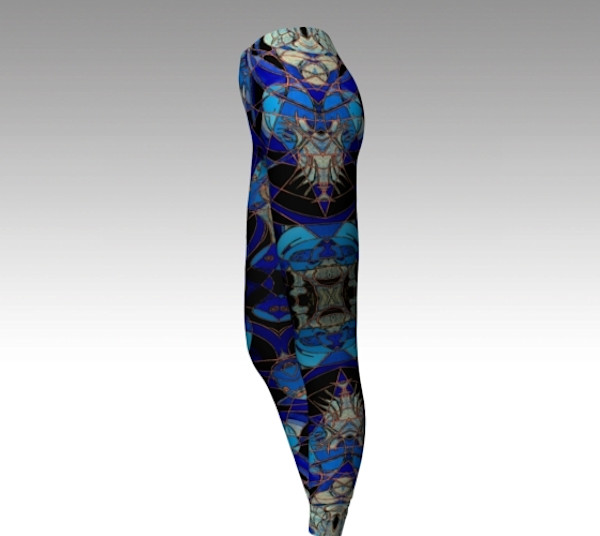 Jelly Fish Fine Art Leggings