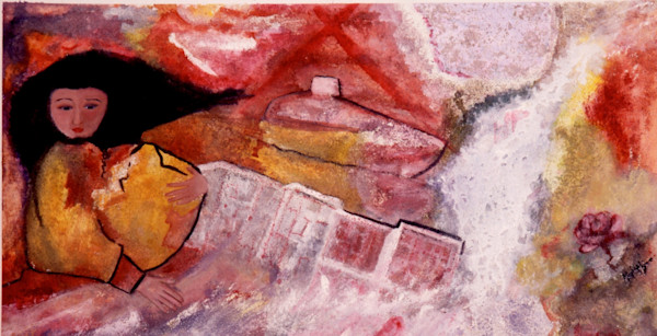 """China Woman"" by Maria Maja-Schaefer   Prophetics Gallery"