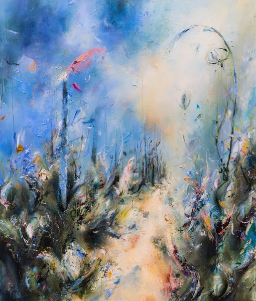 Original Abstract Art & Landscape Paintings for Sale | Samantha Kaplan
