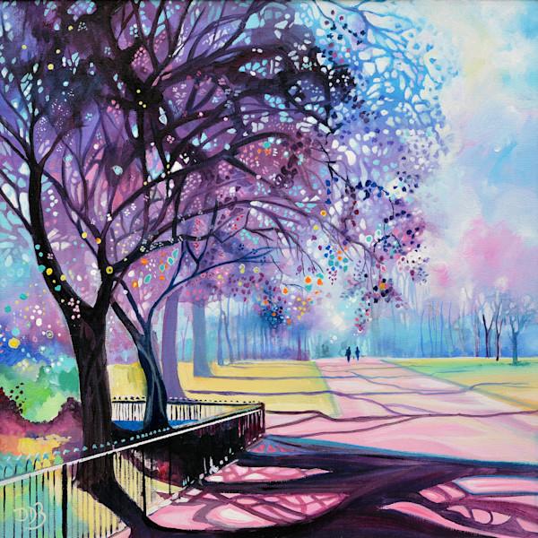 Fine Art Print Kensington Gardens