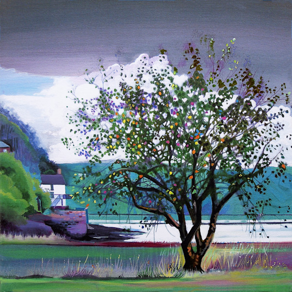 Boathouse Laugharne Fine Art Print