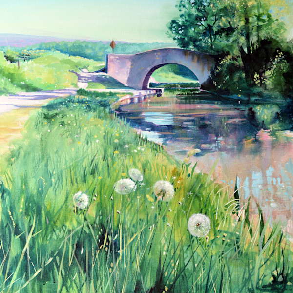 Brecon and Monmouthshire canal fine art print