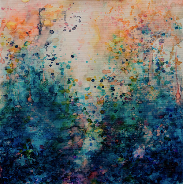 Sacred Land - Contemporary Abstract Landscape Painting | Samantha Kaplan