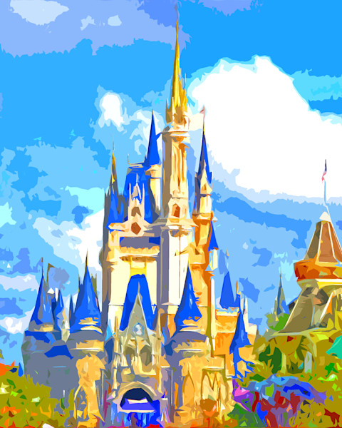 Magical Disney Castle - Disney Art Gallery | William Drew