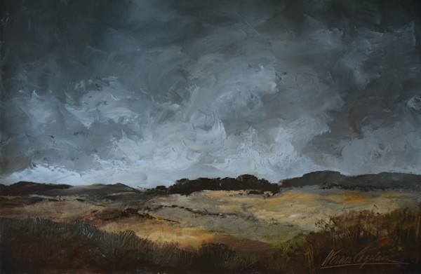 RESERVED - Stormy Landscape