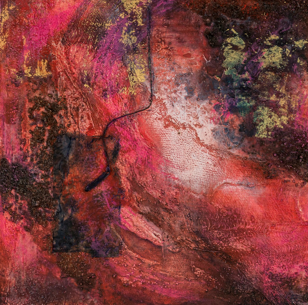 Cosmic Energy 2 | Paintings by Lucy Ghelfi | For Sale