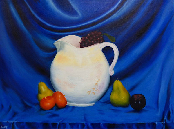 Still Life Art and paintings  Antonio Davis Mouth Painter, Fruit