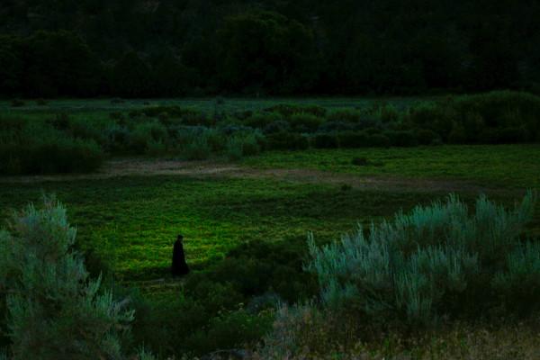 Strolling Monk at Twilight, d'Ellis Photographic Art photographs, Bill