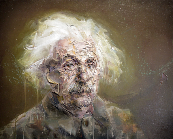 Albert Einstein Portrait Painting