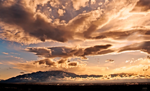 Photo of Sandia Skyscapes #4, d'Ellis Photographic Art photographs, Bill