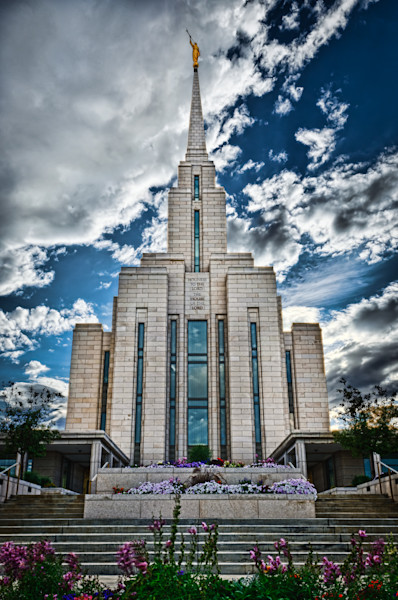 The Lord Is With Us - Oquirrh Mountain LDS Temple -