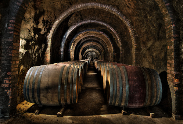 Italian Wine Barrels from Chianti Italy