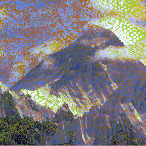 Mount Everest Art Print by Peter McClard at VectorArtLabs.com