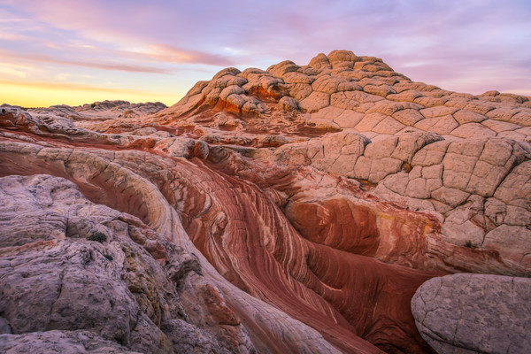 White Pocket Morning Glow-Douglas Sandquist Photography
