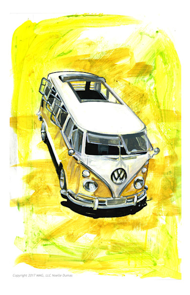 Classic air cooled vw bus