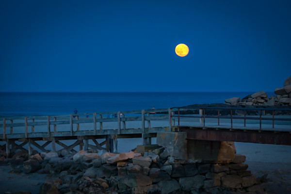 Full Moon over Good Harbor