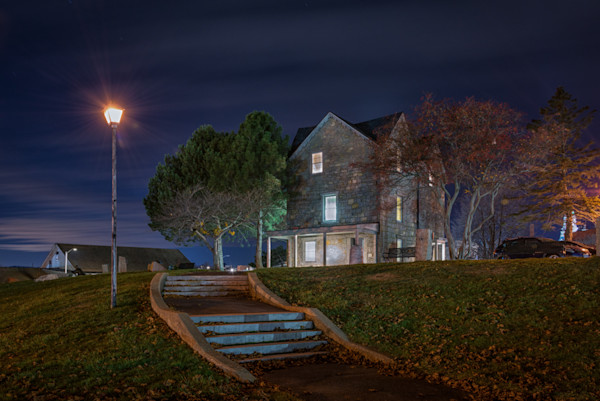 Fitz Hugh Lane House Blue Hour
