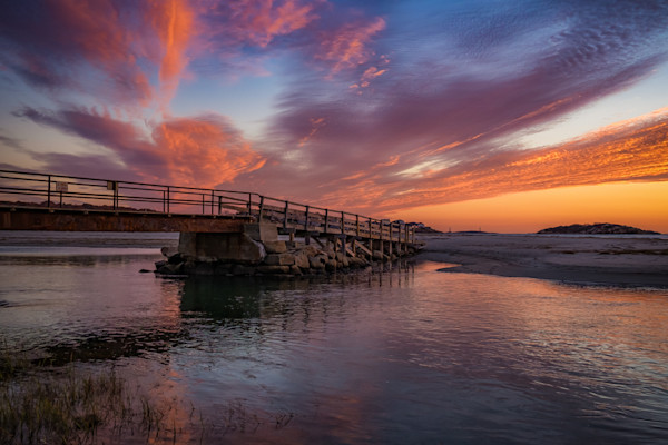 Good Harbor Footbridge Sunrise