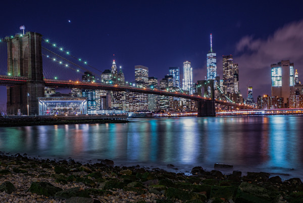 Brooklyn Bridge NY Night Scenes