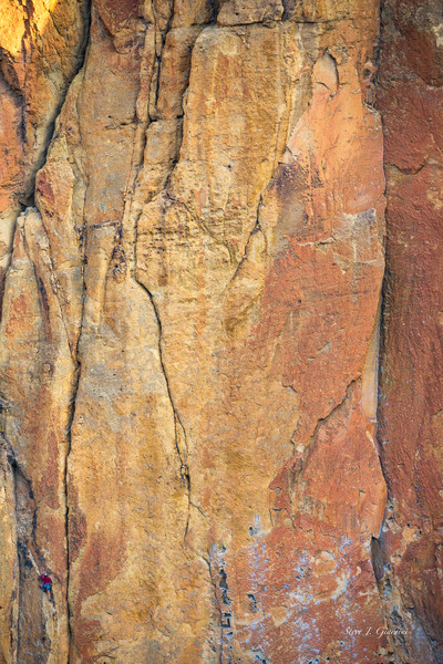 Smith Climbing II (171731LSND8) Rock Climber Smith Rock State Park Photo Print for Sale