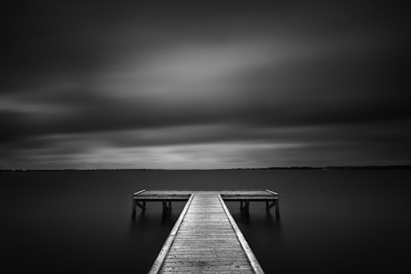 The Pier at Sandy Point by Andrew Vernon: Outer Banks Landscape Photography