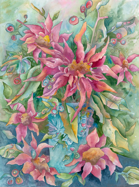 Floral Fantasy by Gayle Faulkner