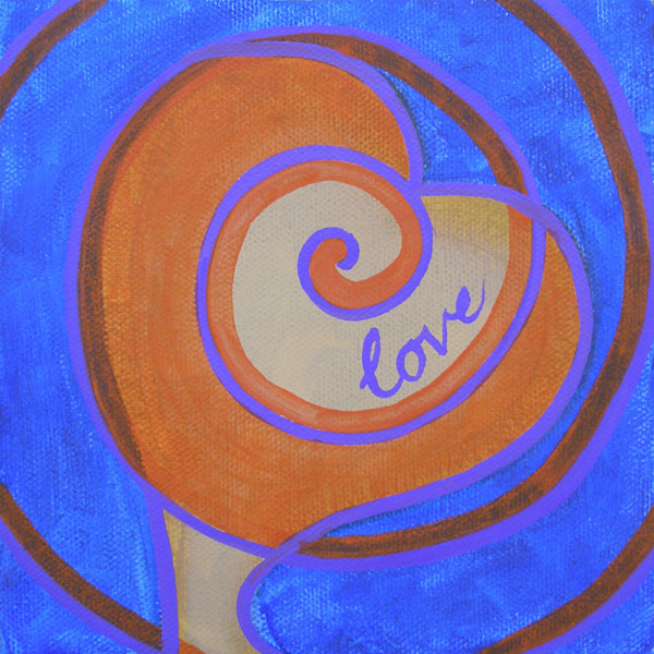 All About Love Six oil painting for sale by Paula Manning-Lewis