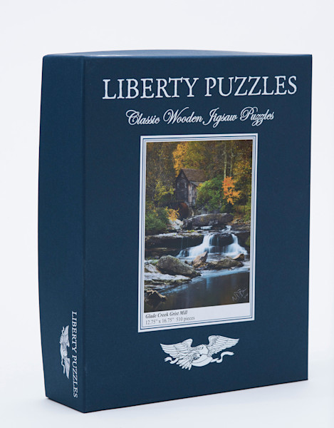 Glade Creek Grist Mill - Liberty Puzzle