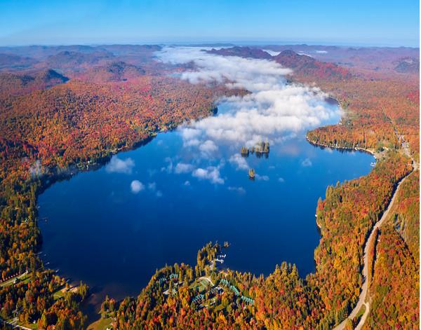 4th Lake Fall Aerial