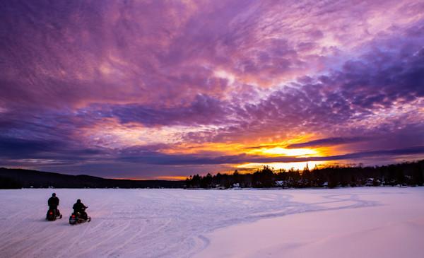 4th Lake Purple Sunset