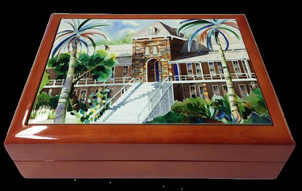 Wooden Keepsake Box | Southwest Gifts | Old Main II