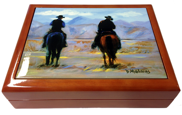 Wooden Keepsake Box | Southwest Gifts | Day's End