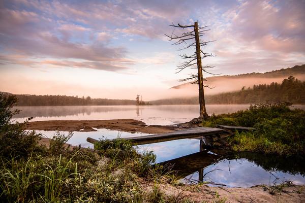 Moss Lake Sunrise