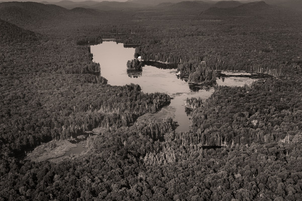 Rondaxe Lake Aerial