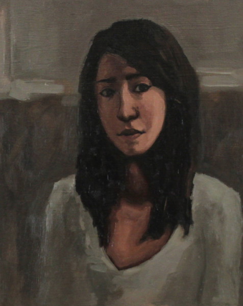 Shop for original paintings like Too Young To Have Thought Less, oil on canvas by Jeremy Couch.