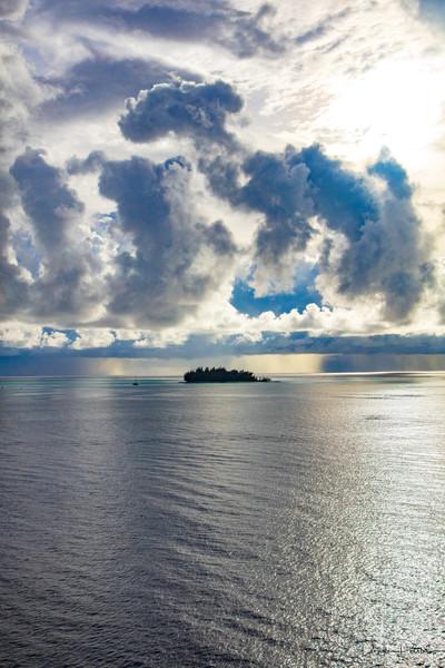 Photograph, Sunset Bora Bora, French Polynesia