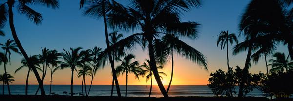 Photograph, Sunset, Ko'olina, Oahu, Hawaii, USA