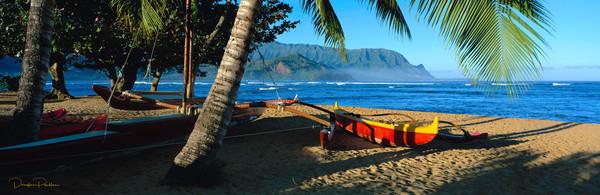Hanalei Bay, Hanalei, Kauai, Hawaii, USA