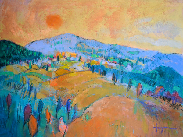 Land of Plenty Collection | Dream Landscape paintings by Dorothy Fagan