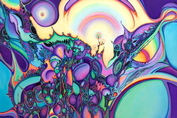 Purple Dawn by Blaise Domino