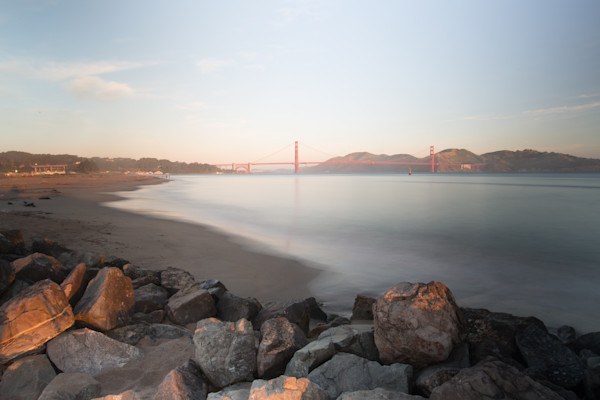 Sunrise Golden Gate Bridge Fine Art Photo for sale | Barb Gonzalez Photography