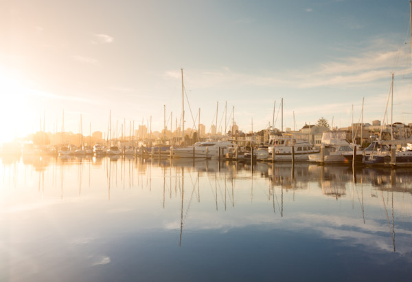 Morning Sun on San Francisco Marina Photo