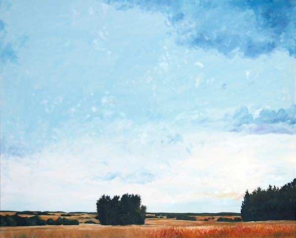 Here I Could Feel the Distance by Richard Jacobson | SavvyArt Market painting