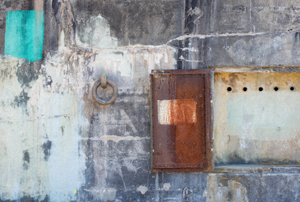 Abstract Fort Worden Bunker photo