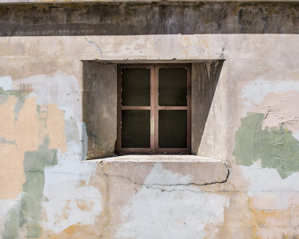Fort Worden bunker window photo