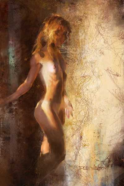 Evening Light digital painting by Eric Wallis