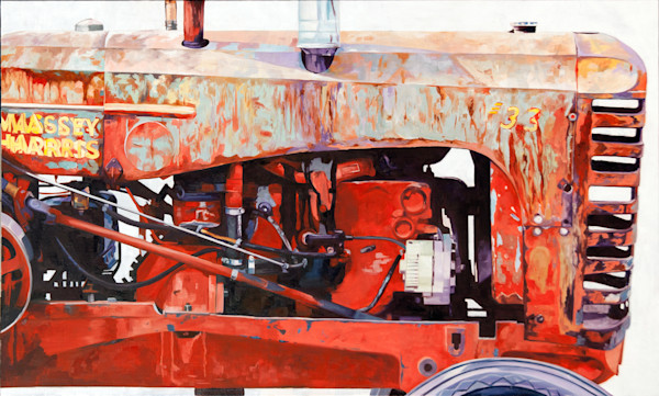 Double Massey by Richard Jacobson | SavvyArt Market original painting