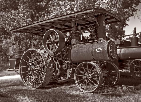 Harvest Keck Gonnerman Steam Tractor Restored Farm fleblanc
