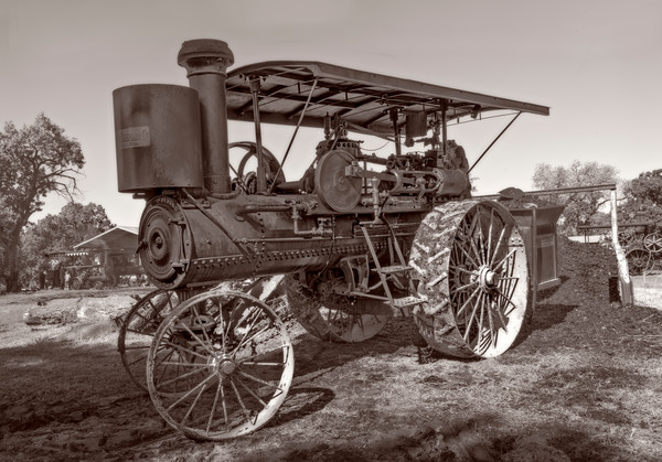 Harvest Nichols & Shepard Steam Tractor Restored Farm fleblanc