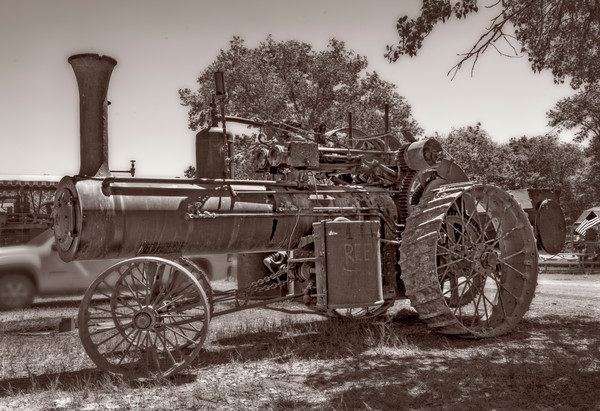 Old Reeves Steam Powered Tractor Restored Farm fleblanc
